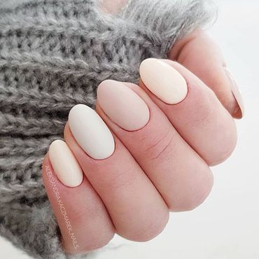 For those who still wanna wear Cold shades 😉 #nailsdone by @aleksandra.kaczmarek_nails . Semilac 544 Just Chillin, 220 Nugat Beige, 208 Mild Beige . www.semilac.ie #beigenails #nails4today #nailsinspo #semilac #nailsonpoint #shortnails #mattenails #milkynails #gelpolishmanicure #gelpolishnails