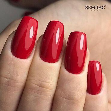 With #semilac you have endless color option over 300.. but this is your must have! #semilac231 Girl On Fire www.semilac.ie . #semilacgirlonfire #semilacireland #semilacnails #rednails #autumnnails #longnails #nailsireland #dublinnails #corknails #irishnailtech #nailsonfleek #gelpolishnails #simplenails #nailtech #nailartist #nailsdone