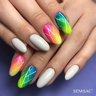 No better colour for Saturday inspo! Semilac 544 Just Chillin + Semilac Neon powder effects 🛍 www.semilac.ie . . . . #saturday #justchillin #chillout #nailtechlife #nails #manicure #saturday #nailselfie #nailtech #irishnails #irishgirl #ireland #beautybloggers #semilacnails #semilacireland #hybrydy #pazurki