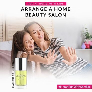 If you have girls at home that are bored? Set up your own beauty salon at home 🏠💅. Both of you will have an amazing time! All you need is few manicure products. We recommend ✔Delicate Quick Shine 400/4000 file ✔Semilac manicure oil ✔and for the hand massage use Semilac Hand Cream 😉 www.semilac.ie . #homefun #stayathome #funwithkids #semilac #semilaclove #manicure #fun #playathome
