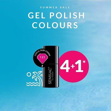 Don't forget about our Summer Sale! Buy any 5 Gel Polish: Colours / Top / Base / 5in1 / Building (can be mixed) and the 5th cheapest item you will receive for FREE! 😍 www.semilac.ie Limited time only . #semilacnails #semilac #semilacireland #irishnailtech #irishnailsalon #hybrydy #gelpolish #nailsireland #nails #paznokcie #summersale #deal