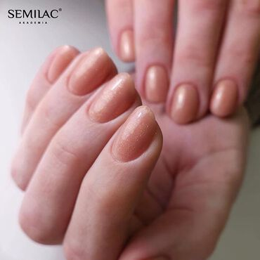 For the fans of #nudenails in #glitter 💅🏻 Semilac 804 . www.semilac.ie #semilacireland #semilac #nailsireland #semilac5in1 #semilac804 #glitternails #sparklenails #delicatenails #paznokciehybrydowe #hybrydy #gelpolishnails #nailsdublin #corknails #nailslimerick #shellac #nails4today #instanailstyle
