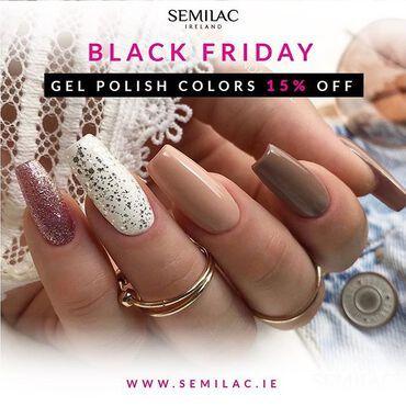 Enjoy 15% off this Friday! www.semilac.ie . #semilac #semilacireland #semilacnails #gelpolish #gelpolishmanicure #semilaclove #nailsireland #irishnailtech #shellacmanicure #nails #manicurehybrydowy #hybrydy #manicure