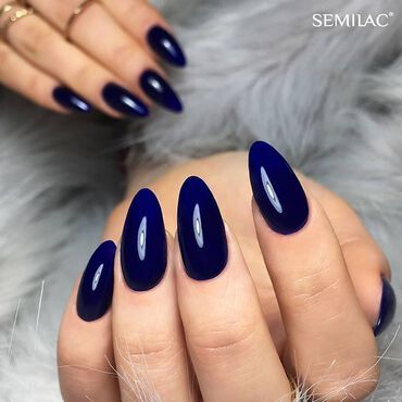 This beautiful shade of deep, ink blue is of course #semilac088 💙 . www.semilac.ie #semilacnails #semilacireland #semilacblueink #navynails #bluenails #autumnnails #nailsinspirations #semilac #nailsonfleek #longnails💅 #gelpolish #shellac #manicure #hybrydy #stylishnails #nailsireland #irishnailtech #nailbar #beautysalon