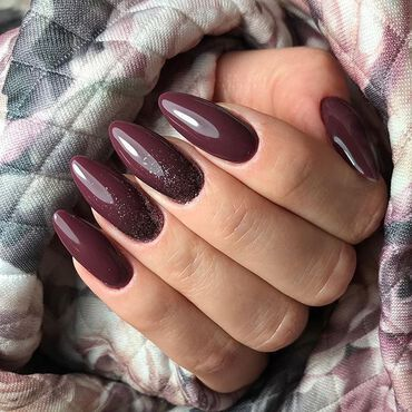 #semilac030 🍫 Cool shade of dark chocolate with subtle, dark cherry note #nails by @magdalena_wyrwa . www.semilac.ie #semilacireland #semilacnails #darkchocolate #nailstyle #manicure #longnails #nailsonfleek #semilac #gelpolishmanicure #shellacnails #nailsireland #nailtech