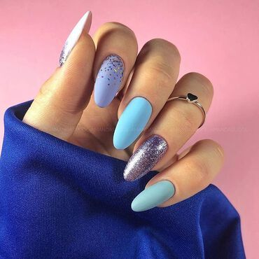 See #gelpolish colors to achieve this stunning 💅🏻👇 Nails by @amanda.sudolll 💜297 Violet Shimmer 💜175 Lavender Cream 💜127 Violet Cream 💜546 Ahoy There 💜161 Something Nice 💜545 Time to fly#Semilac #SemilacIreland #nailsonfleek #nailtech #naildesign #violetnails #purplenails #glitternails #semigirls #semilaclove #nailart