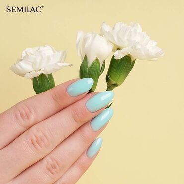 Try out our new #semilac808 #pastelmint from #Extend5in1 collection! . www.semilac.ie
