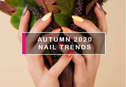 Autumn 2020 nail trends – colors and patterns