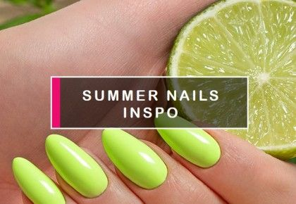 Summer holiday nails. Inspirations and trends 2021 - blog Semilac