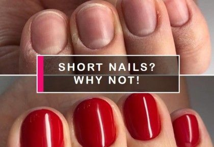 Gel polish on short nails? No problem!
