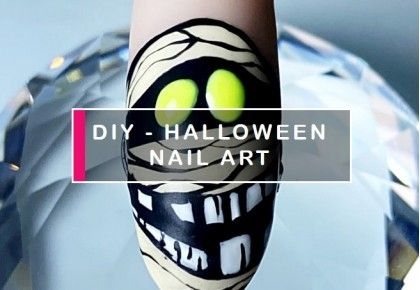 Impressive DIY Halloween nail art - in 5 steps!