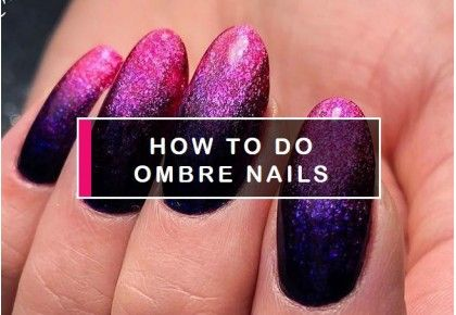 How to do ombre nails with gel polish - blog Semilac