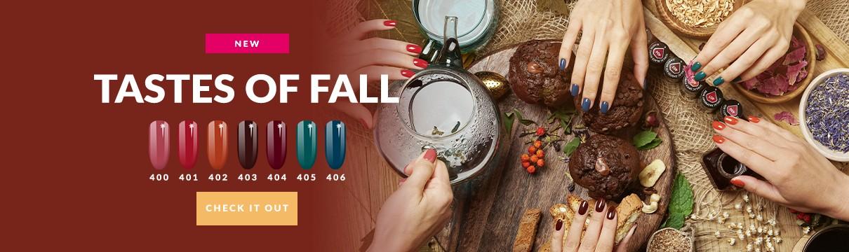 Semilac Gel Polish - Taste Of Fall - Gel Polish collection