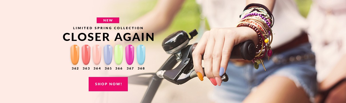 New Semilac Gel Polish Spring 2021 collection