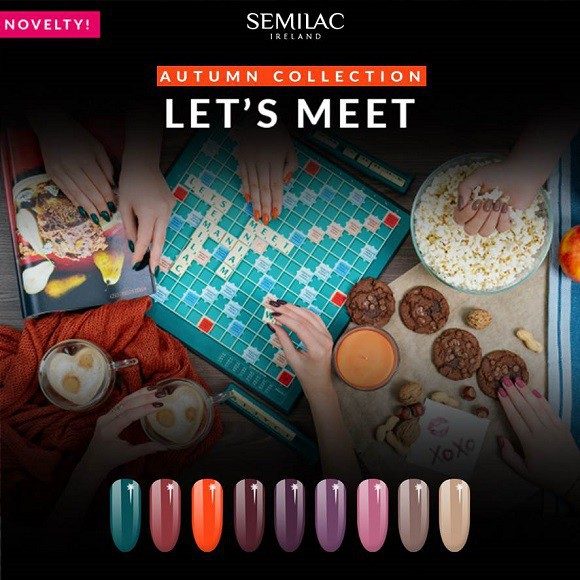 New Autumn Gel Polish collection - Semilac Let's meet