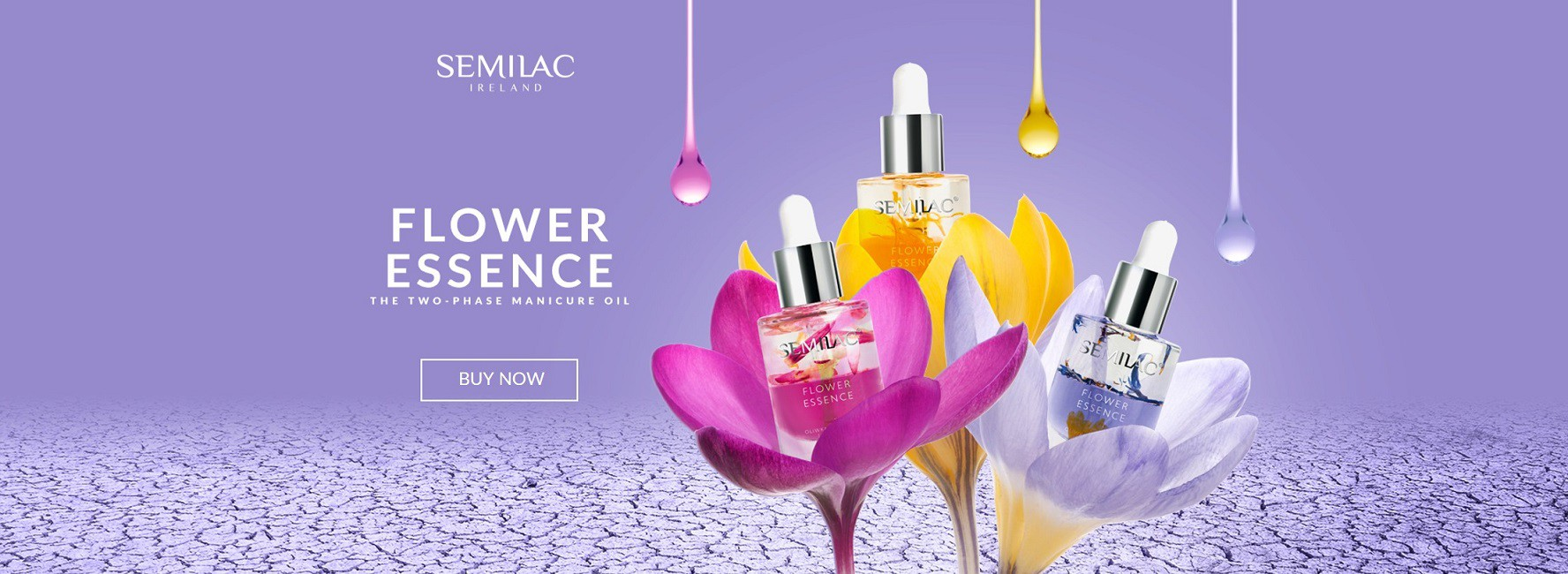 Two phase manicure oil from Semilac Ireland