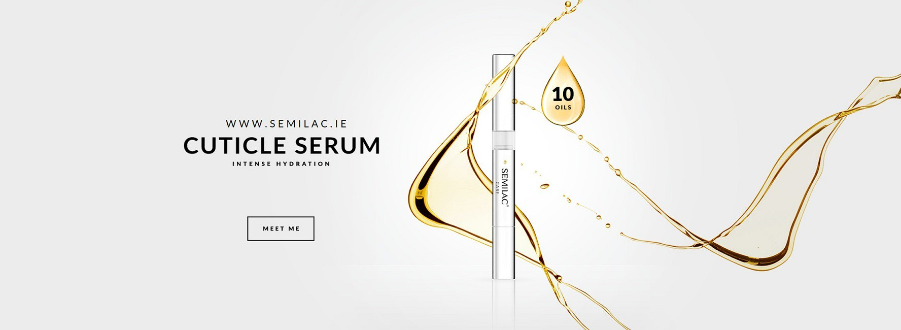Semilac Ireland Cuticle serum pen with 10 natural oils