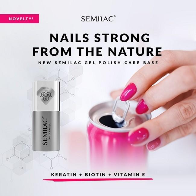New Semilac Gel Polish Care Base