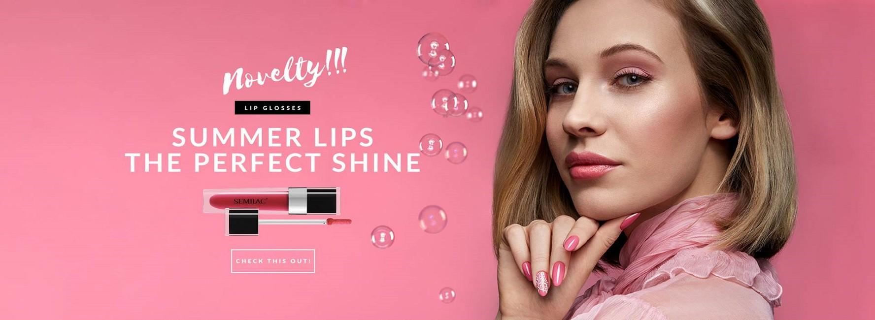 Semilac Ireland 2019 summer lip glosses