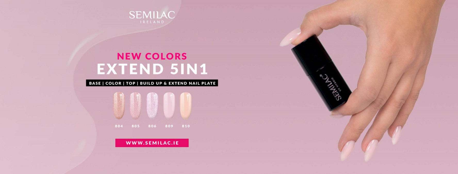 New Semilac 5in1 Christmas Glitters