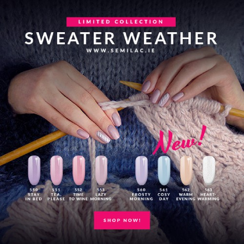 Semilac New sweter weather