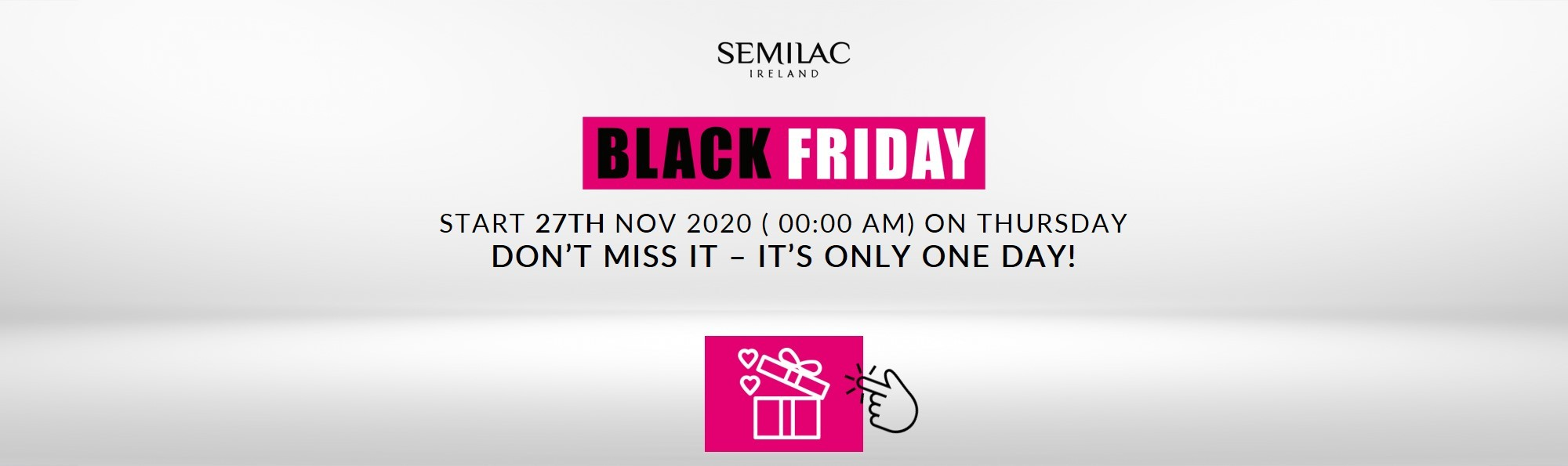 Semilac Ireland Black Friday offer