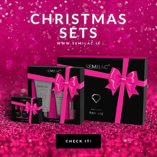 Semilac Christmas Gift sets