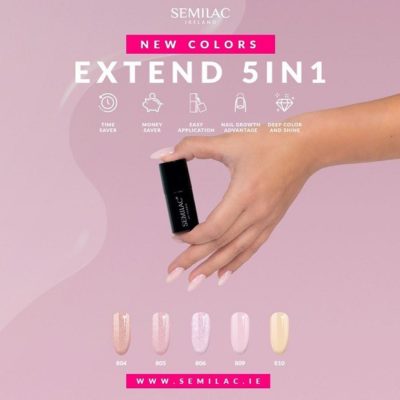 New Semilac Extend 5in1