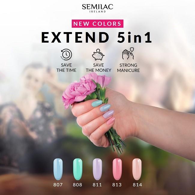 New Spring Semilac Gel Polish colors