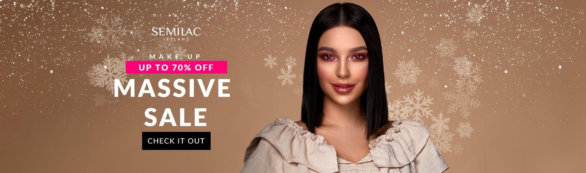 Semilac Makeup SALE